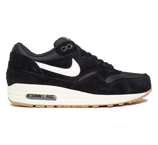 Nike Air Max 1 Essential (Black/Sail-Black-Gum Light Brown ...