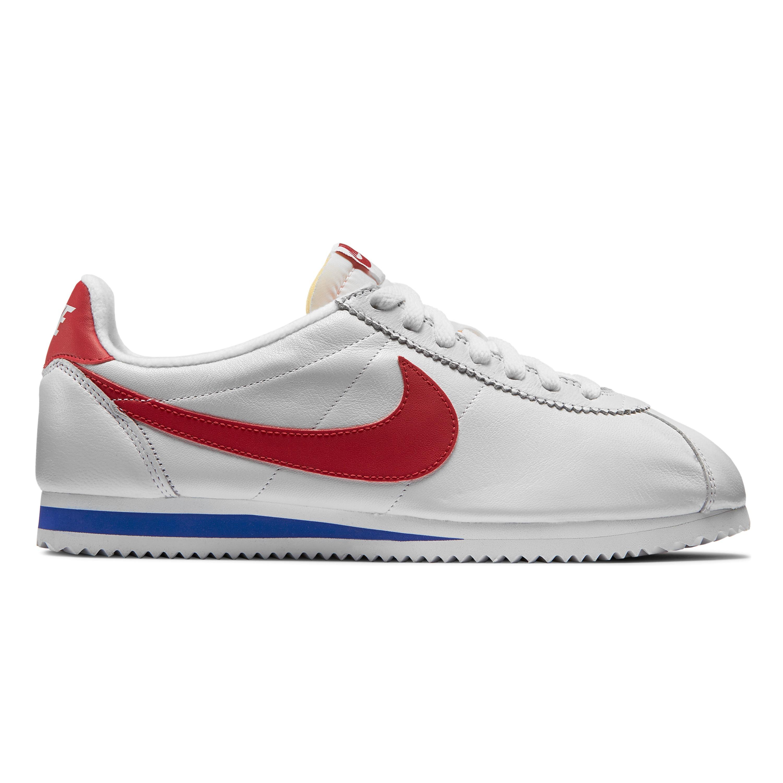 Nike Classic Cortez Premium Qs (White / Varsity Red - Varsity Ro