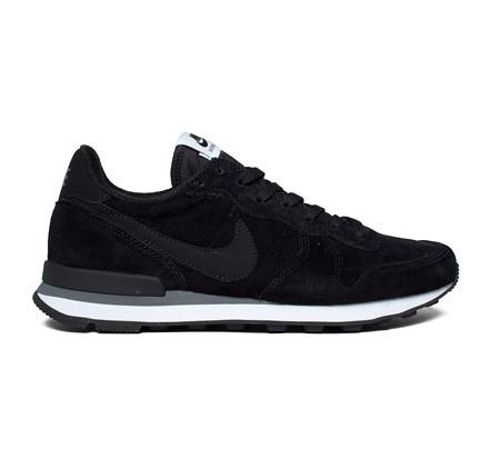 Nike Internationalist Leather (Black/Black-Dark Grey-White ...