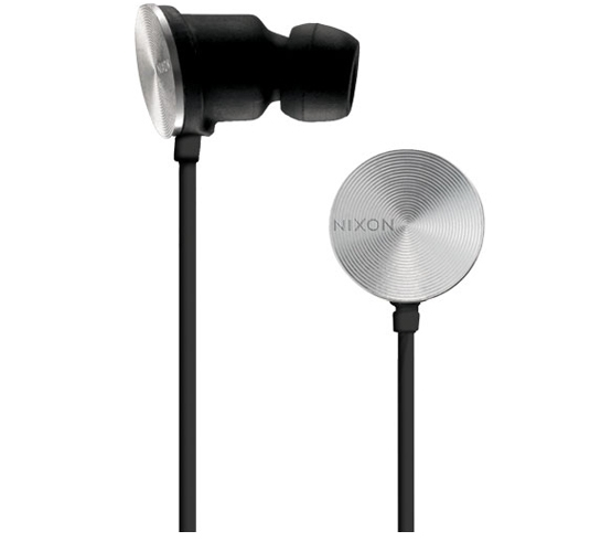 Nixon Wire 10 MM Headphones (Black)