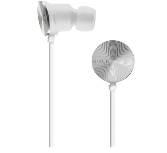 Nixon Wire 10 MM Headphones (White)