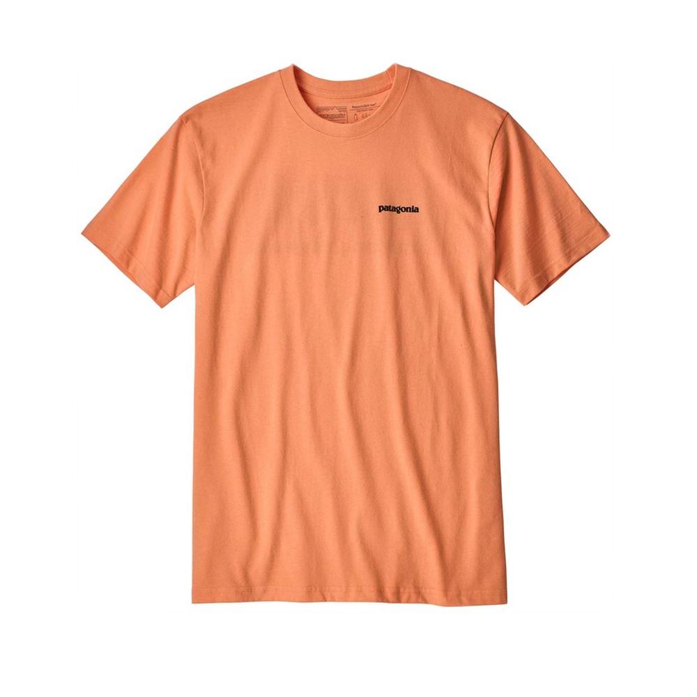 Patagonia P-6 Logo Responsibili-Tee T-Shirt (Peach Sherbet)