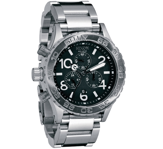 Nixon The 42-20 Chrono Watch (Black)