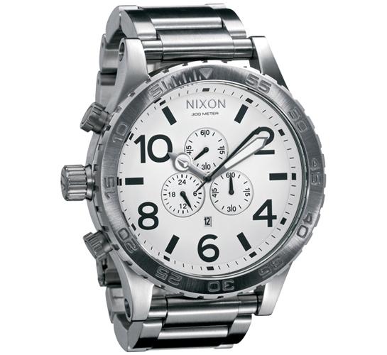 Nixon The 51-30 Chrono Watch (White)