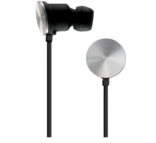 Nixon Wire 8 MM Headphones (Black)