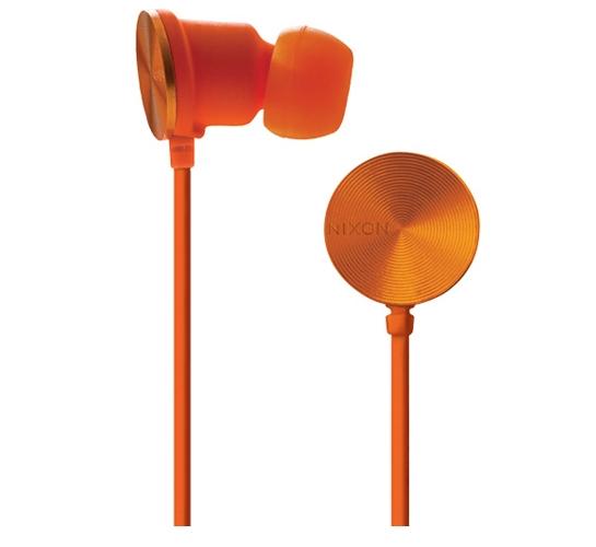 Nixon Wire 8 MM Headphones (Orange)