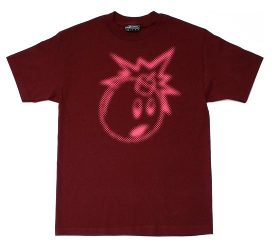 The Hundreds Men's T-Shirt - Blur Adam (Burgundy)