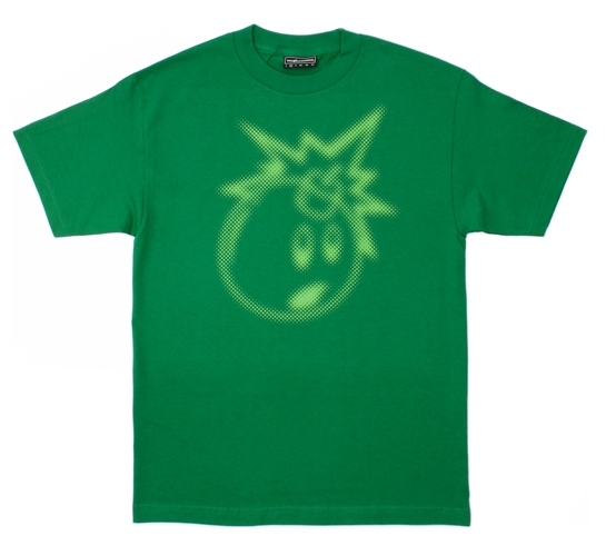 The Hundreds Men's T-Shirt - Blur Adam (Kelly)