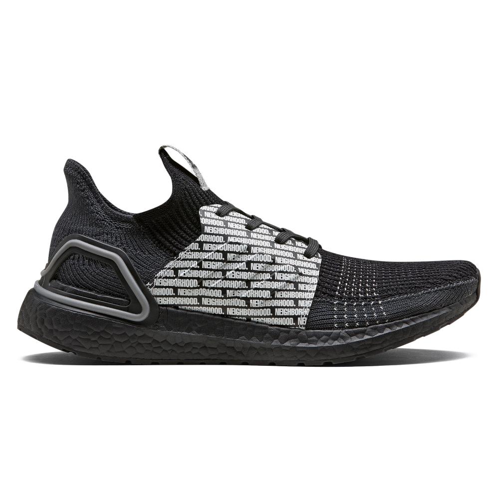 adidas by NEIGHBORHOOD UltraBOOST 19 'Run City Pack' (Core Black/Core Black/Footwear White)