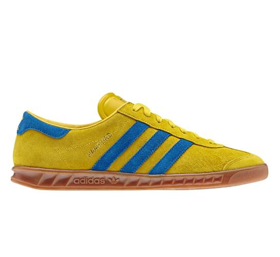 Adidas Hamburg (Tribe Yellow S14/Bluebird/Metallic Gold) - Consortium.