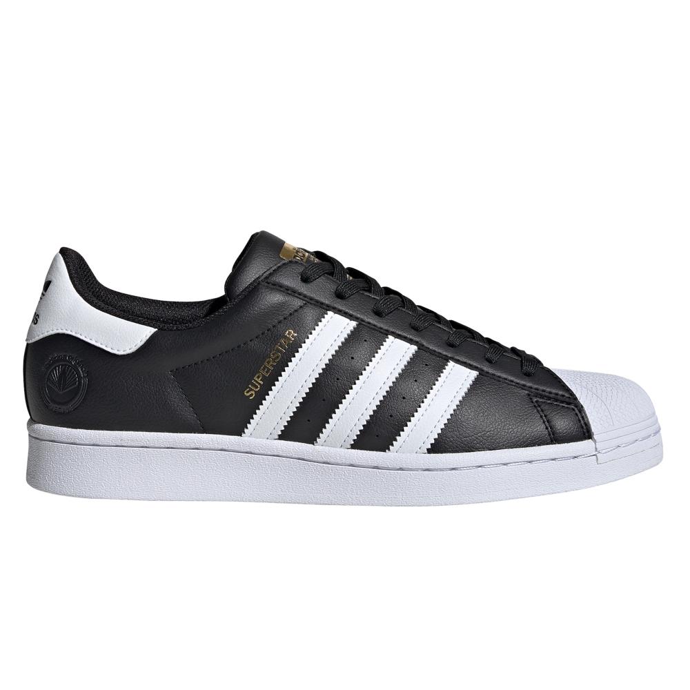adidas Originals Superstar Vegan (Core Black/Footwear White/Gold Metallic)