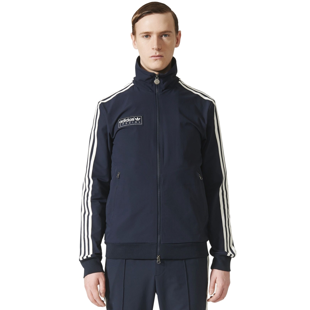Adidas Originals X Spezial Forest Gate Track Jacket Night Navy Consortium