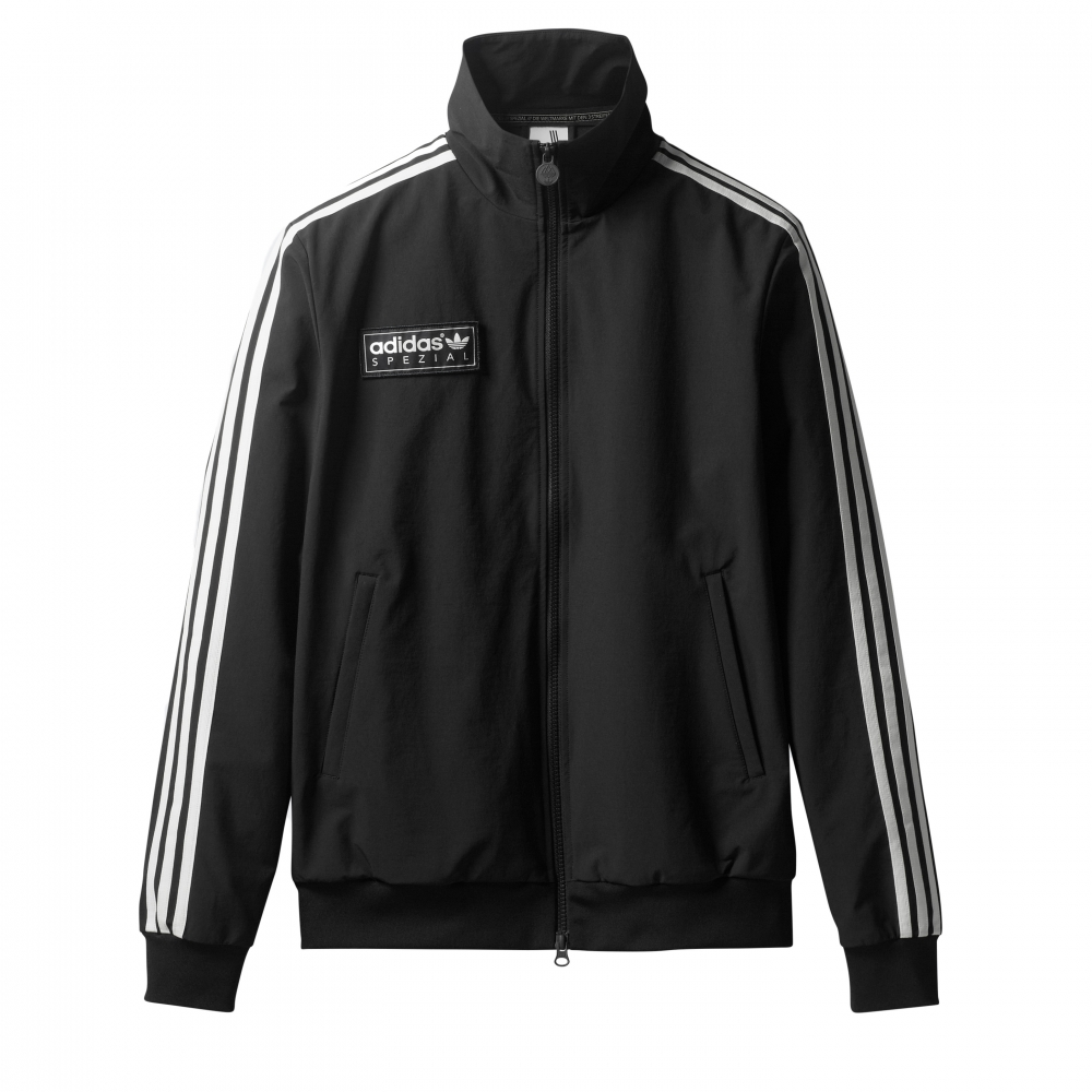 adidas Originals x SPEZIAL Pleckgate Track Top (Black)
