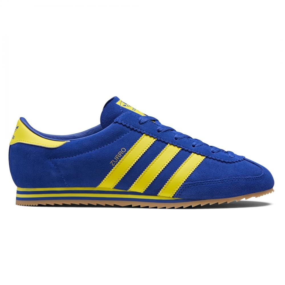 adidas Originals x SPEZIAL Zurro SPZL (Bold Blue/Bright Yellow/Bold Blue)