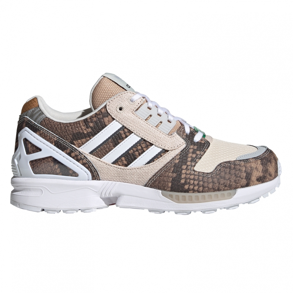 adidas Originals ZX 8000 'Lethal Nights Pack' (St Pale Nude/Chalk White/Solar Red)