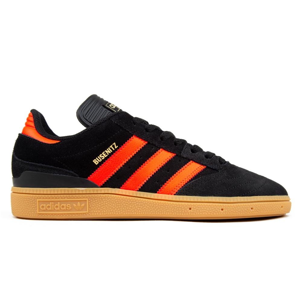 adidas Skateboarding Busenitz (Core Black/Solar Red/Gum)
