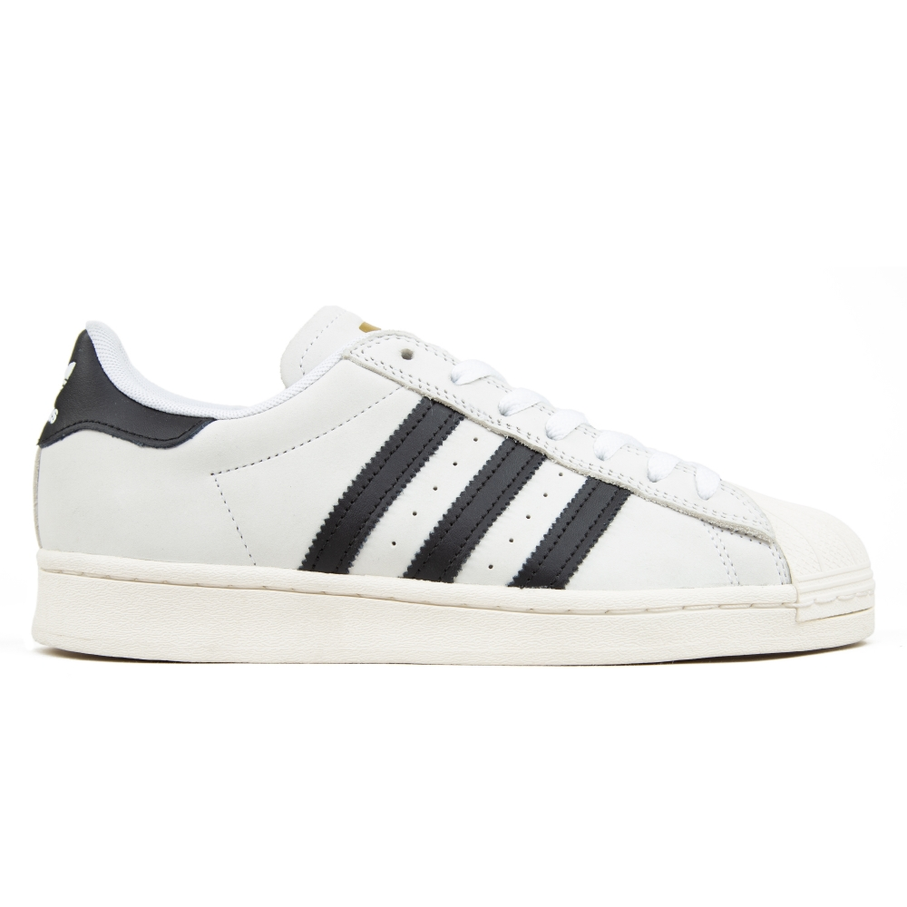 adidas Skateboarding Superstar ADV (Footwear White/Core Black/Gold Metallic)
