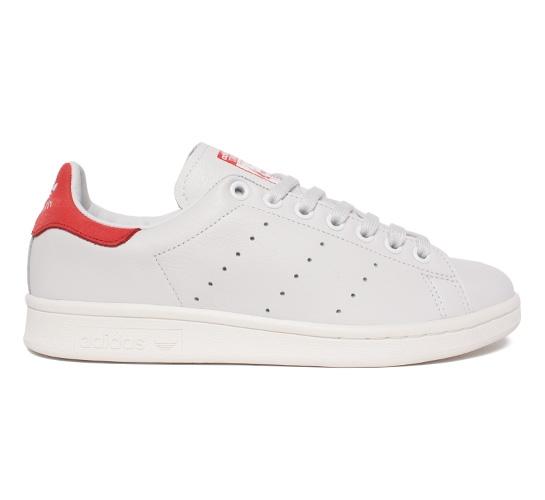 Adidas Stan Smith (Neo White/Neo White/Collegiate Red) - Consortium.