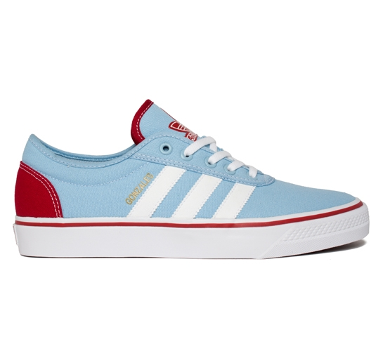 adidas Skateboarding Adi Ease-Gonz (Altitude/Running White/University Red)