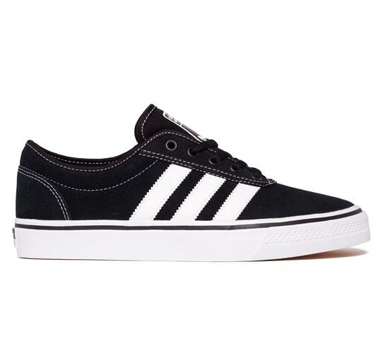 adidas Skateboarding Adi Ease (Black/White/Black)