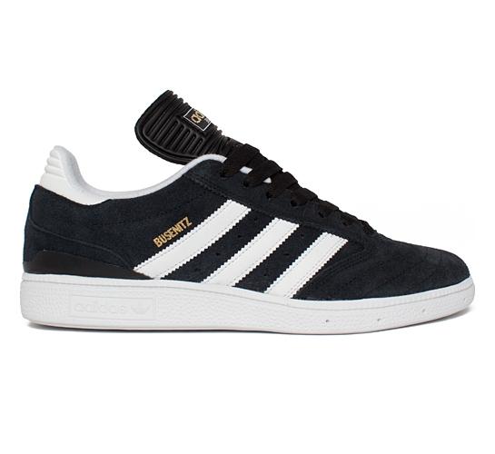 adidas Skateboarding Busenitz (Black/Running White/Metallic Gold)