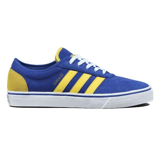 adidas Skateboarding Adi Ease-Gonz (True Blue/Sun/Running White)