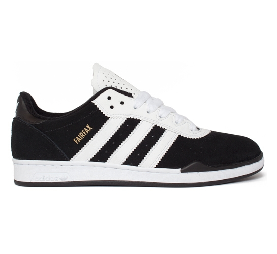 adidas Skateboarding Fairfax Ronan (Black/Running White/Metallic Gold)