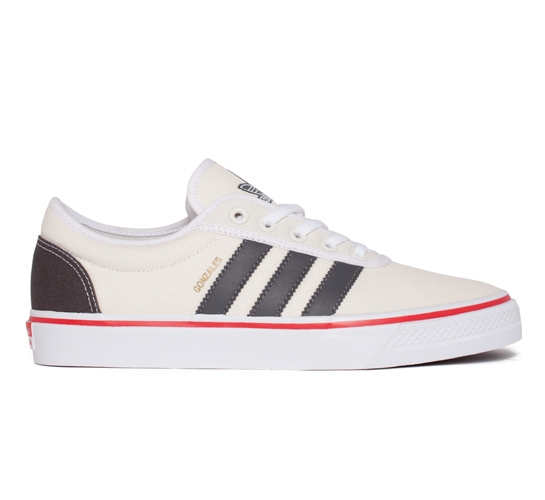 adidas Skateboarding Gonz Adi Ease (Chalk/Sharp Grey/Radiant Red)