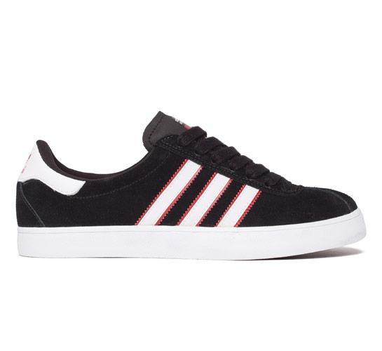 adidas Skateboarding Skate (Black/University Red/White)