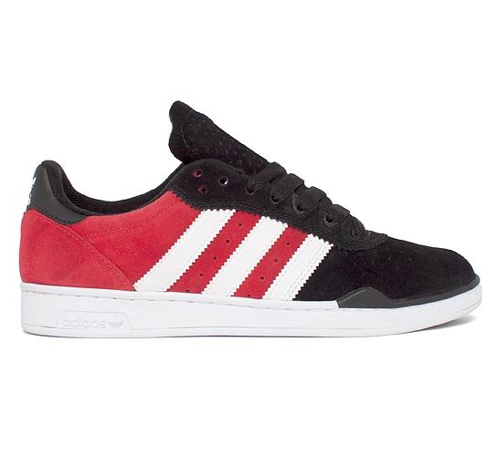 adidas Skateboarding Ronan (Black/Running White/University Red)