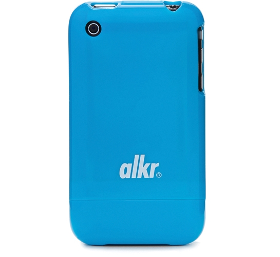 Alkr iPhone Protection Case (Light Blue/White)