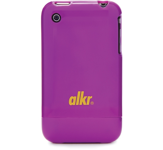 Alkr iPhone Protection Case (Purple/Yellow)