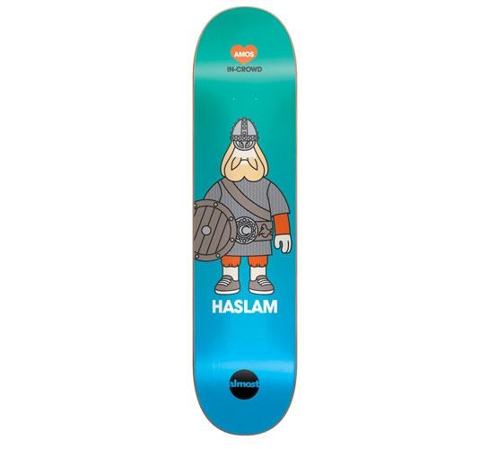 "Almost Skateboard Deck - 7.5"" Haslam(Amos In-Crowd)"