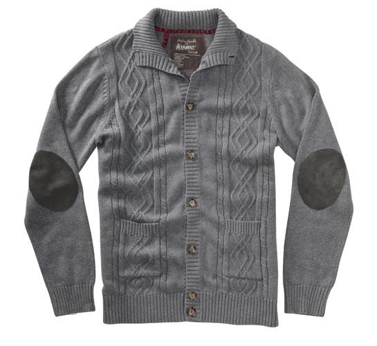 Altamont Men's Sweater - A. Reynolds Signature (Grey)