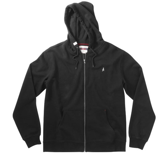 Altamont Basic Zip Hood (Black)
