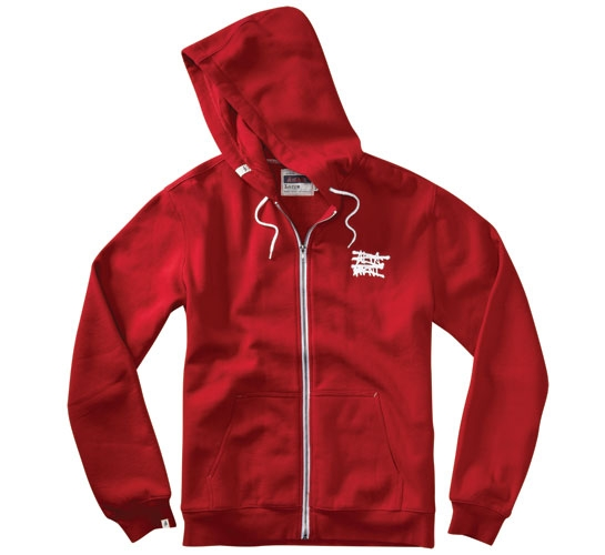 Altamont No Logo Zip Hood (Red)