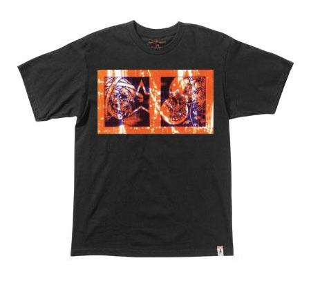 Altamont Men's T-Shirt - Pushead Skull Twin (Black)