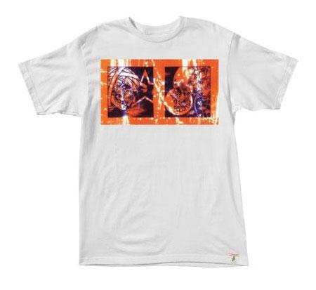Altamont Men's T-Shirt - Pushead Skull Twin (White)