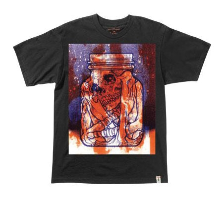 Altamont Men's T-Shirt - Pushead Specimen (Black)