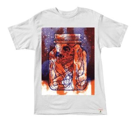 Altamont Men's T-Shirt - Pushead Specimen (White)