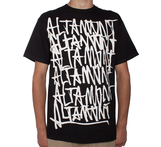 Altamont Repeated T-Shirt (Black)