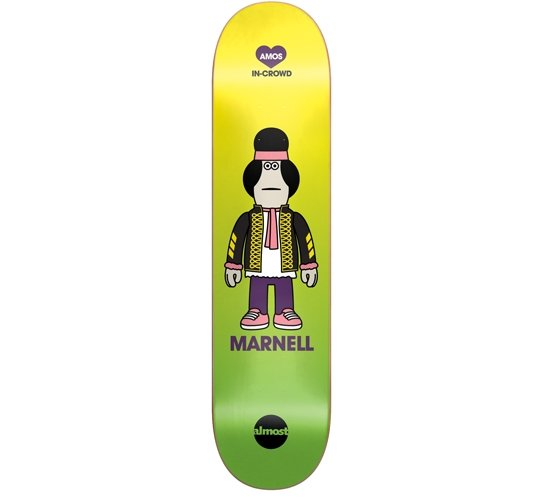 "Almost Skateboard Deck - 7.75""Marnell(Amos In-Crowd)"