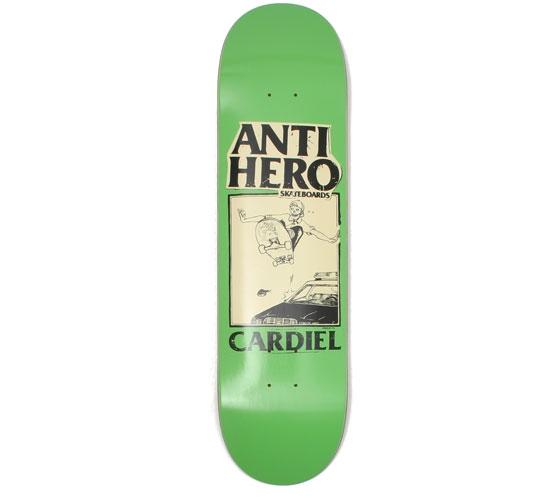 "Anti Hero Skateboard Deck - 8.12"" Cardiel (Skull)"