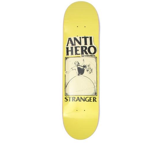 """Anti Hero Skateboard Deck - 7.9"""" Stranger (Skull)"""