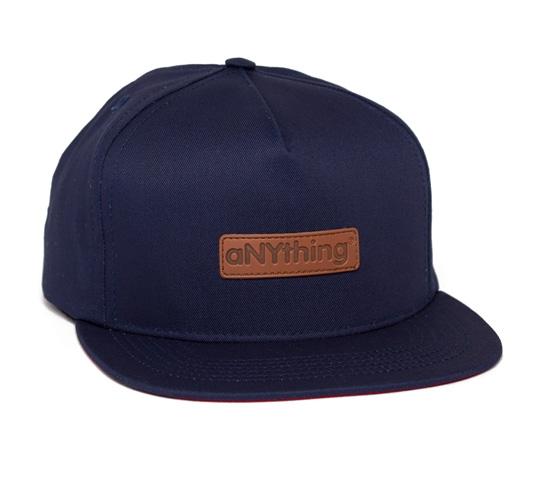 aNYthing Everywhere Snapback Cap (Navy)