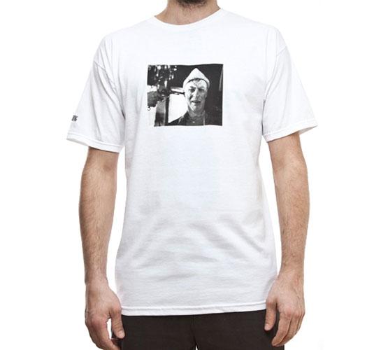 aNYthing No Fucking Clowns T-Shirt (White)