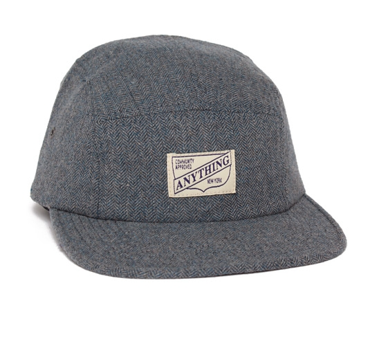 aNYthing Surreal 5 Panel Camp Cap (Slate)