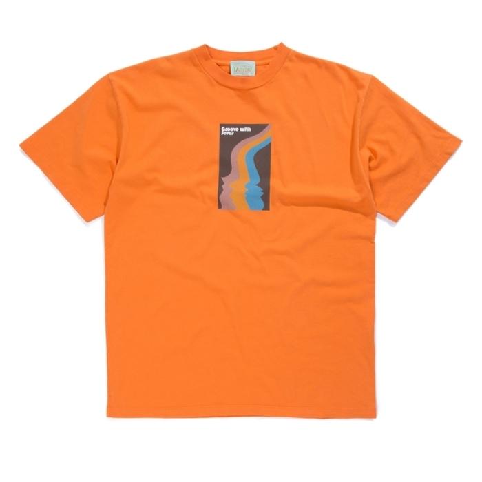 Aries Jesus T-Shirt (Orange)