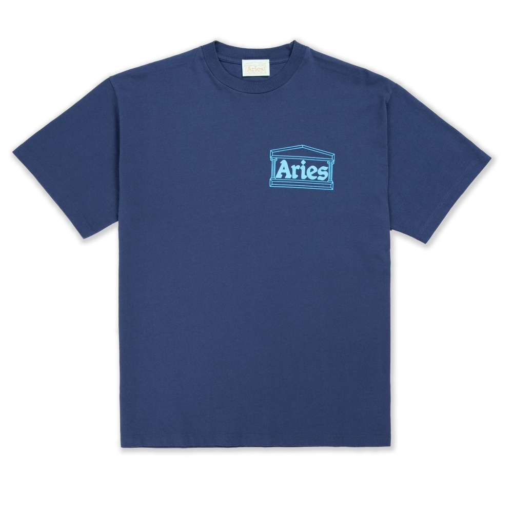 Aries Temple T-Shirt (Blue)