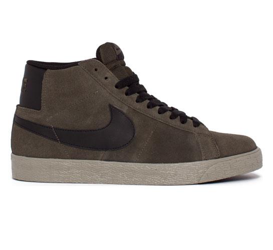 Nike SB Blazer (Bog Green/Black)